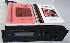 Kurzweil K2000R Rack, Digital Synthesizer, mit Anleitungen, NP 5350 DM