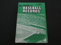 Hardcover Book The Book of Baseball Records 1974 Edition