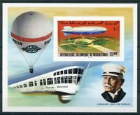 451155) Mauretanien Block 15 B **, Zeppelin
