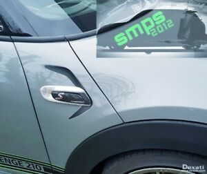 Mini F56 Scuttle Decal Kit JCW Cooper, S, JCW, F57, F55 *SMPS2012* Any Colours