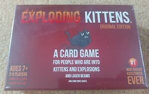 Exploding Kittens Card Game - Family Card Game - New Fast Dispatch Free Post