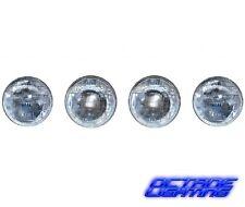 "5-3/4"" Halogen Sealed Beam Glass Hi & Low Headlight Bulbs H5001 & H5006 Set Of 4"