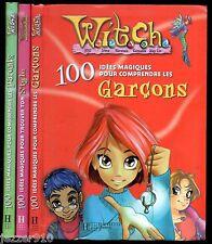 LOT 3 WITCH ¤ 100 IDEES MAGIQUES POUR COMPRENDRE GARCONS/PARENTS... ¤ HACHETTE
