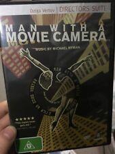 Man With A Movie Camera region 4 DVD (1929 silent experimental documentary movie