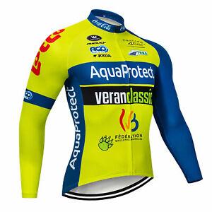 Men's Sports Cycling Jersey Bib Pants 3D Pad Outdoor Long Sleeve Ride Women Set