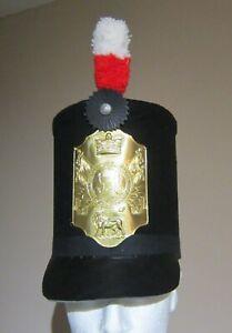 1800 pattern British soldier Stovepipe shako Reenactment Napoleon