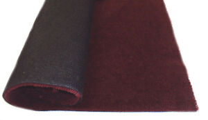 Dark Red car carpet - automotive carpet 1.5m wide (5ft) sold per running metre