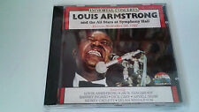 "LOUIS ARMSTRONG AND THE ALL STARS ""AT SYMPHONY HALL"" CD 16 TRACKS COMO NUEVO"