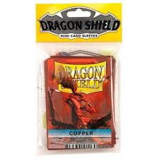 Dragon Shield Japanese Size Copper 50ct Card Protector Sleeves Yugioh ATM10116