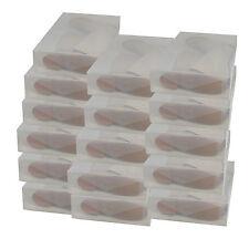 16x Cajas Almacenaje Botas PP384 Apilable Plegable Organizador Transparente