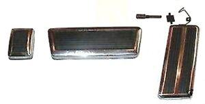 Pedal & Bezel Set for 1970-1972 Barracuda - Challenger w/Auto Trans
