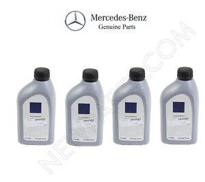 4 For Mercedes Sprinter G GL ML R Class Genuine Power Steering Fluid Q1460001