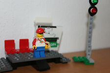 *** Lego City Eisenbahn Bahnsteig mit Signal plus Minifigur neu aus 60197 ***