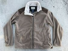 Tag Safari Outdoor Clothing Fleece Jacket Sherpa faux Leather mens size: XL
