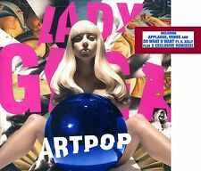 Lady Gaga - Artpop - Special Edition with 2 Exclusive REMIXES