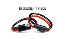 """12"""" 10 Gauge 2 Pin Quick Disconnect Polarized Molded Connectors Electric Install"""