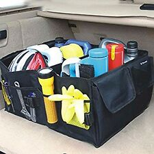 Multi Purpose Car Trunk Organizer Black Cargo Foldable Storage Bag Tool Box
