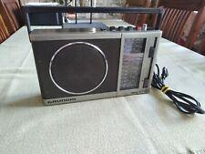 Grundig Music Boy 160 • tragbares Transistor Radio • Kofferradio • grau schwarz