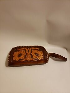 Leather Wallet Change Purse Wristlet Tool Craftsman Little America Wyoming 6 in