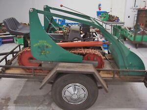 Vintage 1950's Mead Mighty Mouse Baby Bulldozer Crawler Tractor Mini Dozer