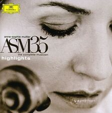 Anne-Sophie Mutter - Asm 35: The Complete Musician - Highlights [New CD] Brillia