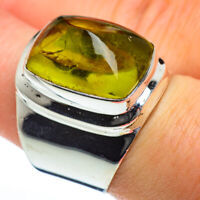 Olive Quartz 925 Sterling Silver Ring Size 8.25 Ana Co Jewelry R46755F