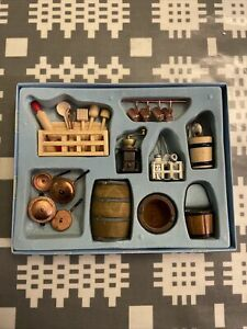 Dolls House Miniatures - Kitchen Set