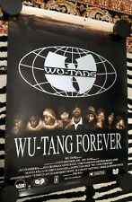 Rap/Hip-Hop Promo Poster - WU-TANG CLAN - WU-Tang Forever LOUD RECORDS ORIG EX
