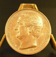 Medal Antoine Eugene Gardner Dit L' Abbot of Genoude Sc Borrel 1849 Medal