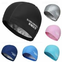 Adults Water Sports Hat Waterproof Swimming Cap Swim Beach Long Hair Bathing Hat