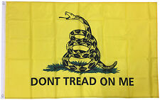 3x5 Ft Gadsden DONT TREAD ON ME Culpepper Rattlesnake Tea Party Flag - yb