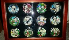W&W Willabee & Ward The Betty Boop Compact Collection in Wooden Glass Case