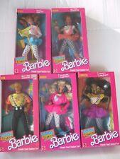 1988 Cool Times Barbie-Christie-Midge-Teresa-ken-Lot of 5