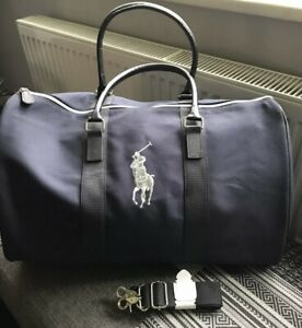 Brand New Polo Ralph Lauren Travel Duffle Weekender Holdall Gym Bag