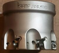 "Iscar helido 2"" shoulder mill  H490 F90AX D2.00-7-.75-09 , used good condition"