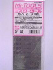 Mr Hobby - Mr Waterproof Sandpaper 180/400/600/800/1000/1500/2000 grit