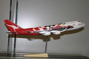 """Scalecraft Models 1:200 Qantas Boeing 747-400 VH-OJC """"Formula One F1"""""""