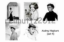 AUDREY HEPBURN - SET OF 5 LARGE PHOTO PRINTS # 4
