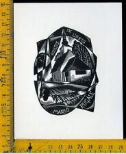 Ex Libris Originale Alexandro Radulescu c 093