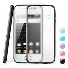 Funda Rígida para Samsung Galaxy Ace Trasera Cubierta Transparente en Mate Nuevo