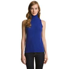 Pull Ns Cashmere 100% Cachemire Bleu Cobalt Neuf avec Etiquettes Taille M (38)