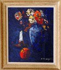 Tableau Original Christophe Charpides Bouquet de fleurs vers 1950