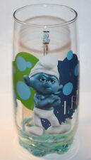Smurfarna original promotion Blue glass 2011 SMURFS movie
