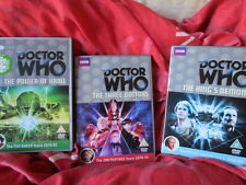 Doctor Who - DVD collection  DVD joblot -  Three Doctors - Kings Demons - Kroll