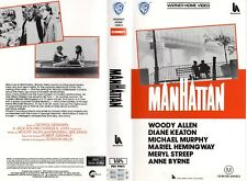 MANHATTAN - Woody Allen - VHS - PAL - NEW - Never played! - Original Oz release
