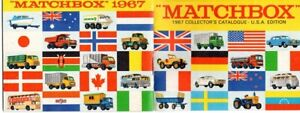 Matchbox Lesney 1967 Catalog - complete - excellent condition - 600 dpi scan