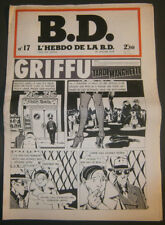 BD - L'HEBDO DE LA BD N°17 - TBE - Editions du Square - 30.01.1978