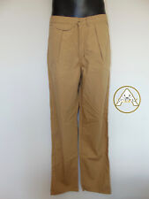 Vintage 80 SPITFIRE 36 L XL Pantaloni Pants Marrone Trousers Leggeri Beige NOS
