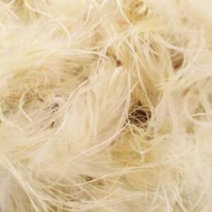 Ostrich & Marabou Feather Boa - Cream