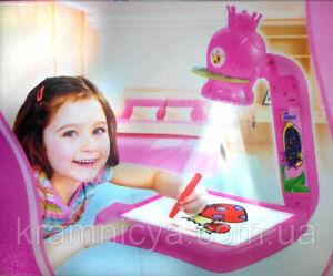 Kinder Projektor Lampe Malerei lernen Studie Spielzeug Neue B Ware 1 Stück